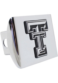 Texas Tech Red Raiders Chrome Car Accessory Hitch Cover