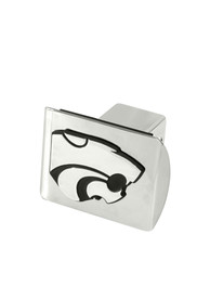 K-State Wildcats Chrome Car Accessory Hitch Cover