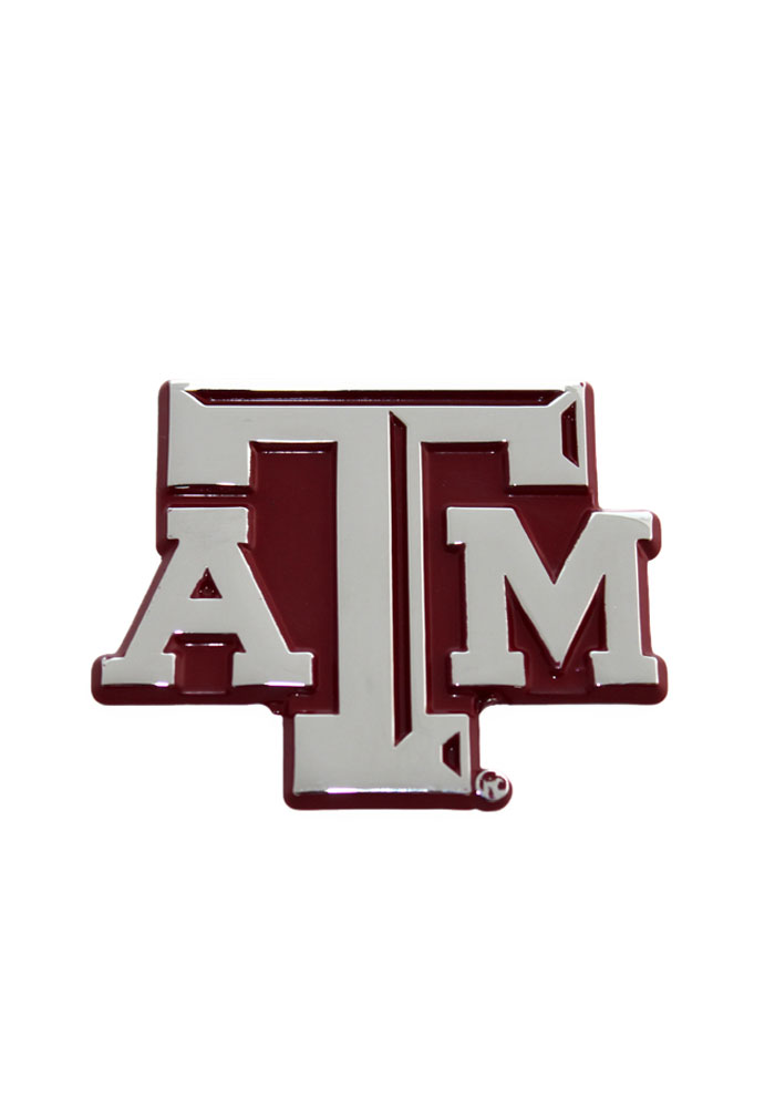 Texas A&M Aggies Maroon Car Emblem - Maroon