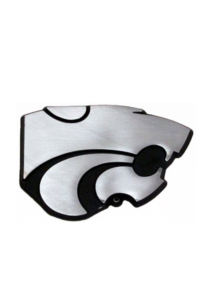 K-State Wildcats Stainless Steel Car Accessory Car Emblem - Image 1