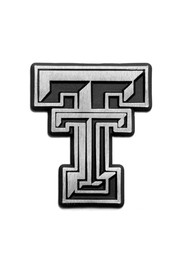 Texas Tech Red Raiders Stainless Steel Car Accessory Car Emblem