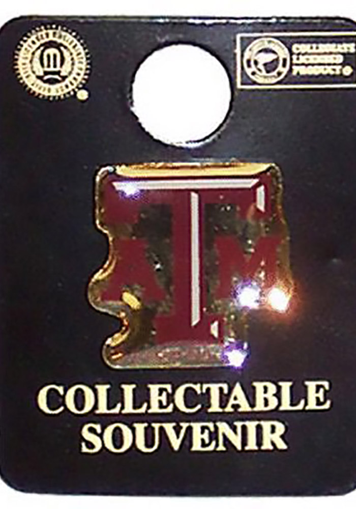 Texas A&M Aggies Souvenir Lapel Pin - Image 1