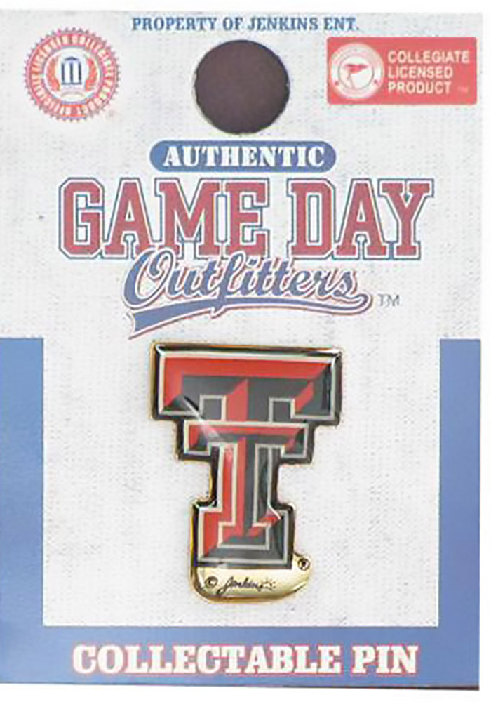 Texas Tech Red Raiders Souvenir Logo Pin - Image 1