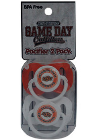 Oklahoma State Cowboys 2 Pack Pacifier