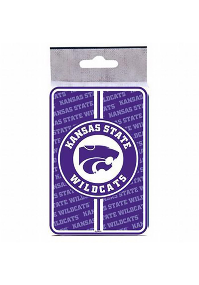 K-State Wildcats Bullseye Playing Cards - Image 1