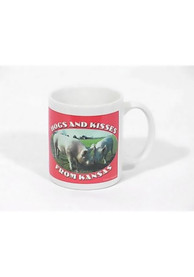 Kansas Hogs Kisses Mug