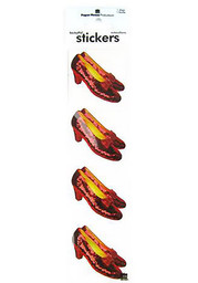 Wizard of Oz Ruby Slippers Stickers