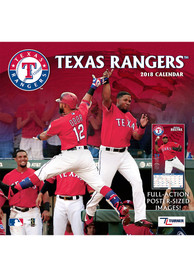 Texas Rangers 2018 12x12 Team Wall Calendar
