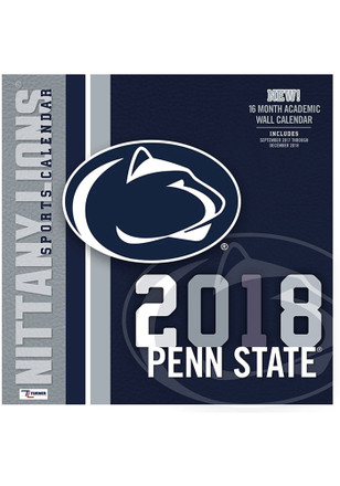 Penn State Nittany Lions 2018 12x12 Team Wall Calendar
