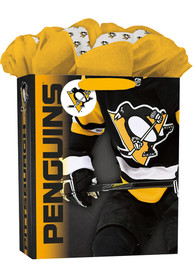Pittsburgh Penguins Large Yellow Gift Bag
