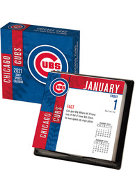 Chicago Cubs 2021 Boxed Daily Calendar