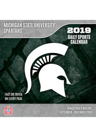 Terrific Michigan State Spartans 2019 Box Calendar Home Interior And Landscaping Palasignezvosmurscom