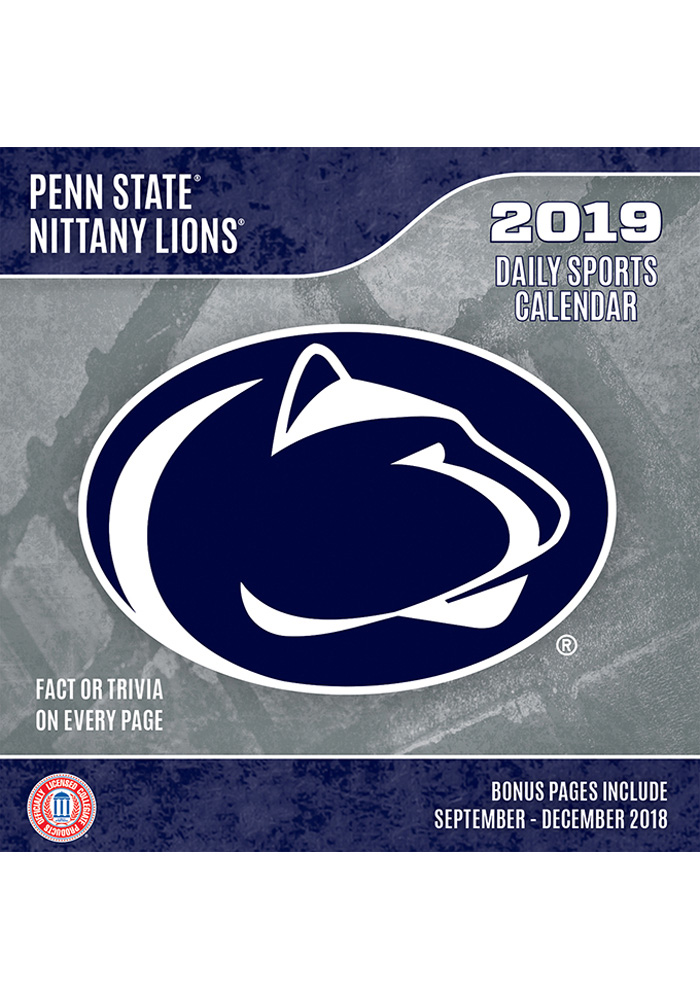 Penn State Nittany Lions 2019 Box Calendar - Image 1