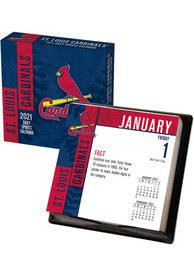 St Louis Cardinals 2021 Boxed Daily Calendar