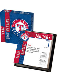 Texas Rangers 2021 Boxed Daily Calendar