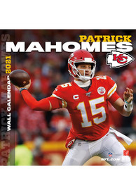 Kansas City Chiefs 2021 12x12 Player Wall Calendar