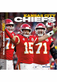 Kansas City Chiefs 2021 12x12 Team Wall Calendar