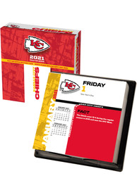 Kansas City Chiefs 2021 Boxed Daily Calendar
