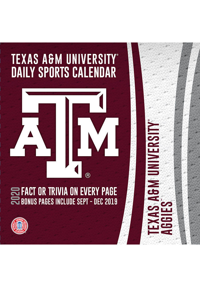Texas A&M Aggies 2020 Box Calendar - Image 1