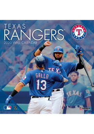Texas Rangers 2020 12X12 Team Wall Calendar