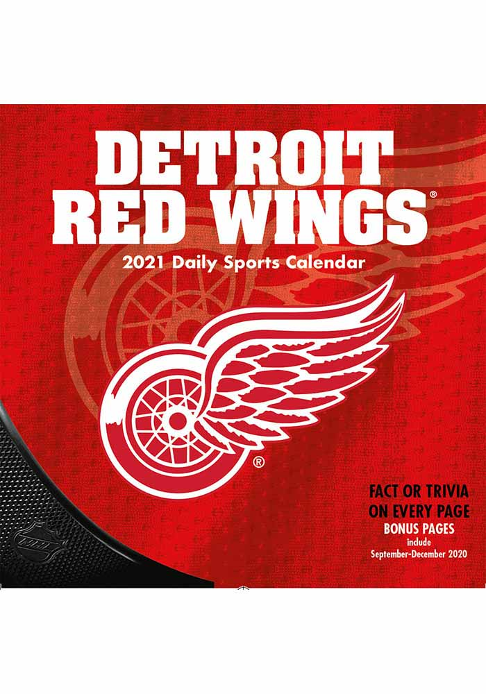 Detroit Red Wings 2021 Boxed Daily Calendar - Image 2