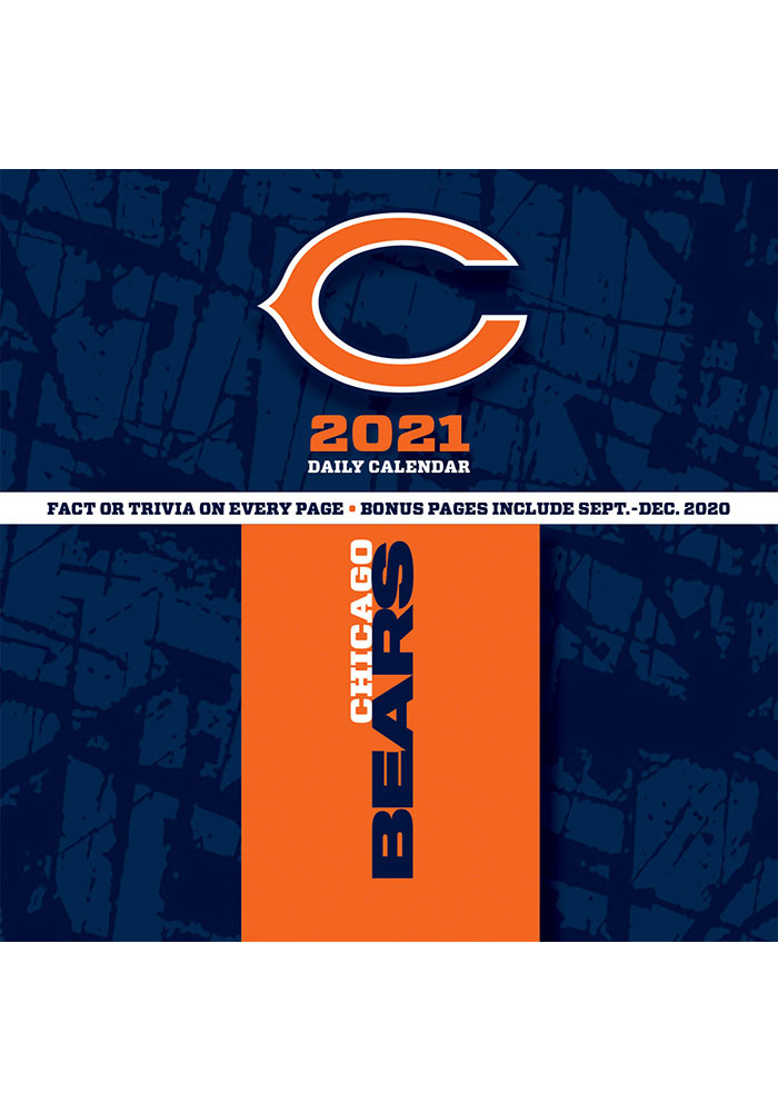 Chicago Bears 2021 Boxed Daily Calendar - Image 2