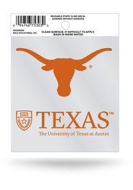 Texas Longhorns Small Auto Static Cling