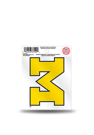 Michigan Wolverines Small Auto Static Cling