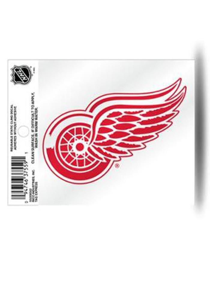 Detroit Red Wings Small Auto Static Cling - Image 1