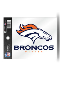 Denver Broncos Small Auto Static Cling
