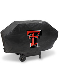 Texas Tech Red Raiders 68in Black BBQ Grill Cover