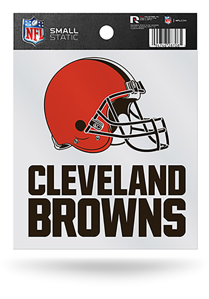 Cleveland Browns Small Auto Static Cling - Image 1