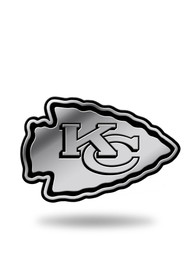 Kansas City Chiefs Molded Car Emblem - Grey