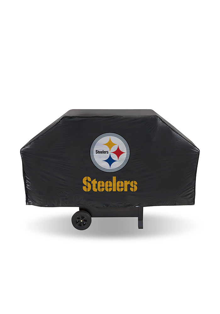Pittsburgh Steelers Ecomony BBQ Grill Cover - Image 1
