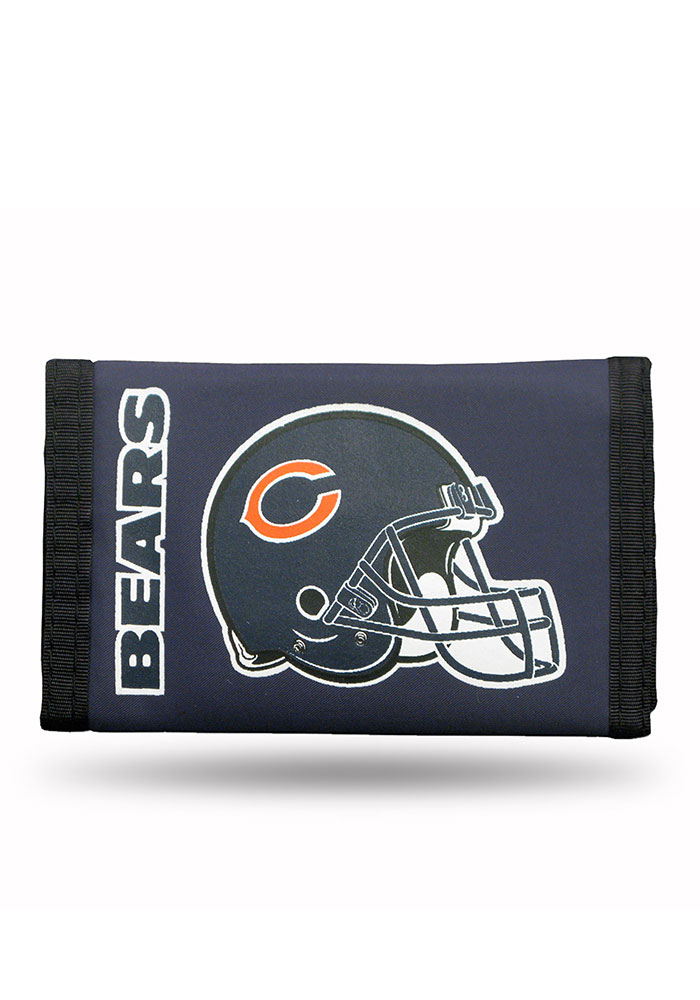 Chicago Bears Nylon Mens Trifold Wallet - Image 1