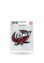 Temple Owls Small Auto Static Cling
