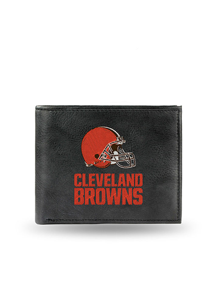 Cleveland Browns Embroidered Mens Bifold Wallet - Image 1
