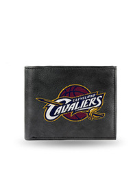 Cleveland Cavaliers Embroidered Bifold Wallet - Black