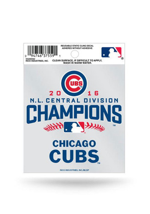Chicago Cubs Small Auto Static Cling