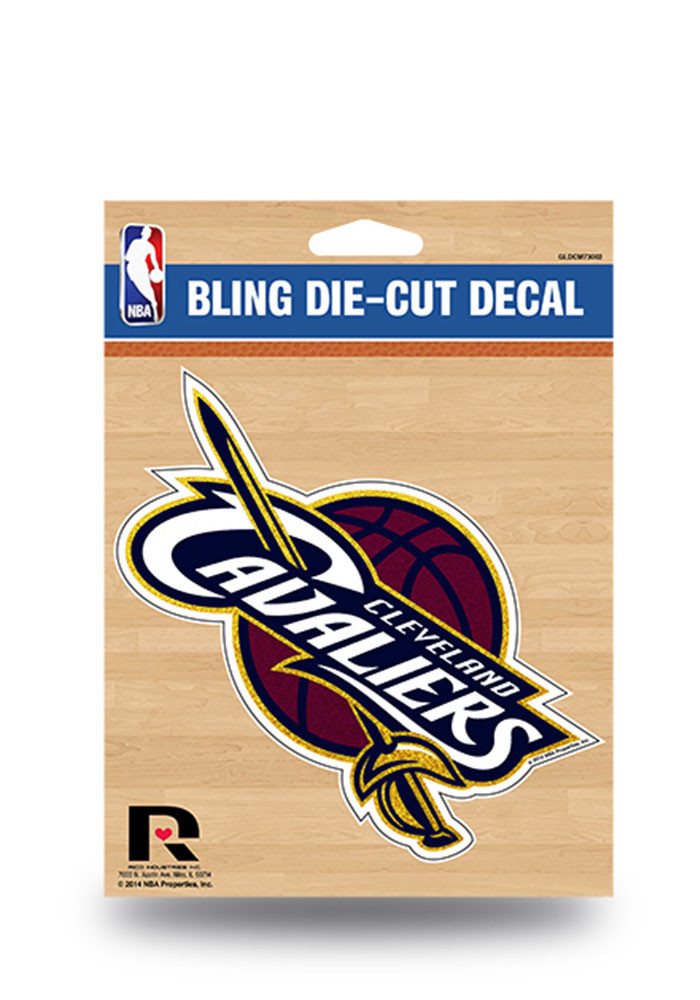 Cleveland Cavaliers Glitter Die Cut Decal - Image 1