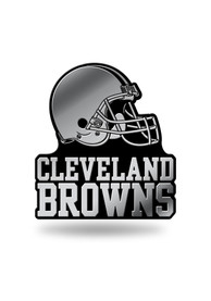 Cleveland Browns Molded Car Emblem - Silver
