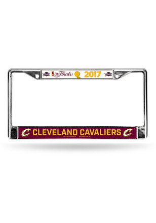 Cleveland Cavaliers 2017 NBA Finals License Frame
