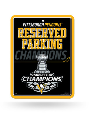 Pittsburgh Penguins 2017 Stanley Cup Champions Sign