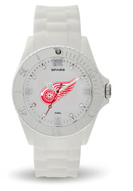 Detroit Red Wings Womens Cloud Watch - White
