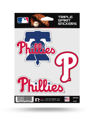 Philadelphia Phillies 3PK Decal