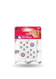 Texas Rangers Peel Stick Fingernail Tattoo