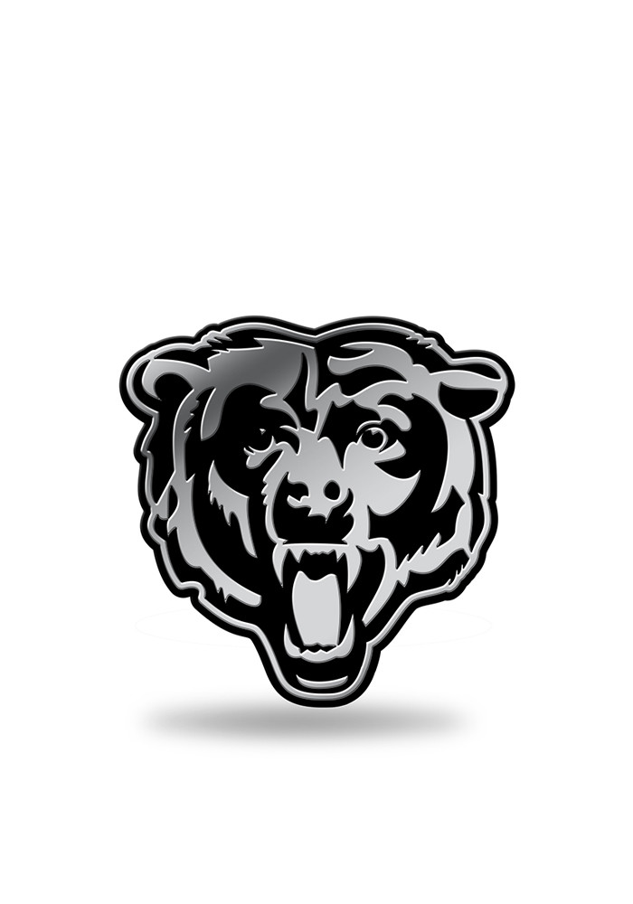 Chicago Bears Molded Plastic Car Accessory Car Emblem - Image 1