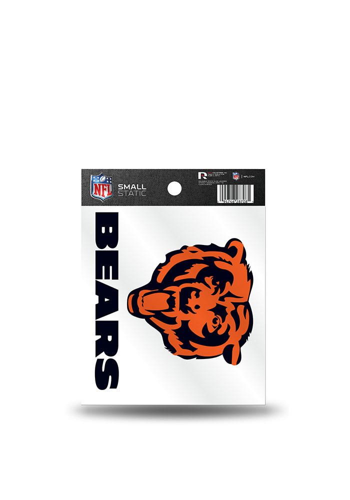 Chicago Bears Small Auto Static Cling - Image 1