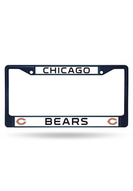 Chicago Bears Navy Colored Chrome License Frame