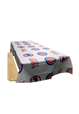 Chicago Cubs 54x108 Team Logo Tablecloth